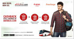 Upto Rs.600 Cash Back on Bus Bookings