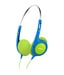 Philips SHK1030/00 On Ear Wired Without Mic Headphone Green