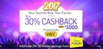LittleApp : 30% cashback upto 5000 on Party deals