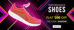 Yepme offer : Flat Rs.200 off on shoes