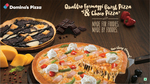 Get 50% Off on Choco Pizza When you buy a Medium or Large Pizza