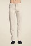 Cottonworld Beige Solid Trouser