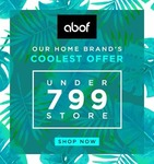Flat 70% Off on Men & Women Clothing & Accessories:- All under 799 only
