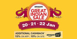Amazon Great Indian Sale (20th Jan to 22nd Jan 2017)