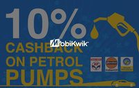 100% Cashback from 6-9 PM on Petrol using Mobikwik  (Now Valid For Mumbai, Bangalore and Delhi NCR)