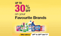 Upto 30% off on Health care & personal products