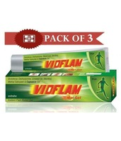 Vioflam Instant Pain Relief Gel (Pack of 3)