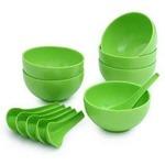 Soup Bowl Set of 12pcs (6 Bowls 6 Soup spoons) at 99 + Delivery