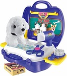 Saffire Pet Store Suitcase Set, Multi Color