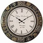 RoyalsCart Handcrafted Wooden Analog Wall Clock@1599