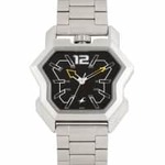 Fastrack Men Black Dial Watch 3125SM02