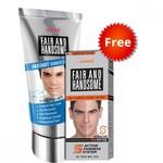Fair & Handsome Instant Fairness Face Wash 100gm + Fair handsome cream 30gm, Free