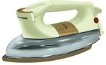 Maharaja Whiteline Classico Deluxe DI-107 1000-Watt Dry Iron (Brown/White)