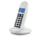 Motorola C1001LBI Cordless Landline Phone (White and Black) for Rs. 875 @ 48% Off MRP Rs. 1690