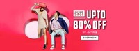 Jabong End Of Season Sale : Upto 80% off on apparels nad accessories
