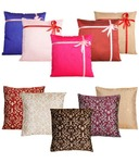 Dekor World Set of 10 Polyester Cushion Covers