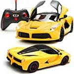 Sunshine Remote Control Car with Opening Doors Rechargeable Ferrari Design (Yellow) - Amazon