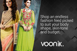 Voonik:- Ethnic Wear Spring Collection Flat 40% Cash Back