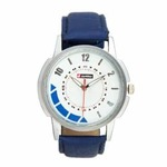 Lotto Round Dial Blue Analog Watch For Men