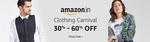 Clothing Carnival - Additonal 30% off + Additional 10% via amazon pay balance