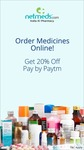 Flat 20% OFF on all medicines @Netmeds when you pay via Paytm