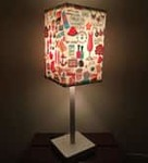 Animated Cartoon Designed (21 x 6) Table Lamps in Multicolor by Nutcase