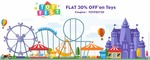 Flat 30% OFF on Entire Toys & Gaming Range @Firstcry