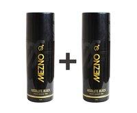 Mezno Absolute Black Premium Fragrance Deodorant Body Spray For Men - 24 Hrs Fresh Power Deo - 150ml (Buy 1 Get 1 Free )