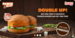 Buy One Chef`s Favorite Paneer Burger & Get Another Absolutely free.