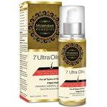 Morpheme 7 Ultra Hair Oil - 100 ml (Almond, Castor, Jojoba, Coconut, Olive, Walnut, Amla Oils)