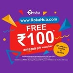 Get Rs.100 Amazon gift voucher FREE on mobile/DTH recharge/postpaid/bill payment of Min.Rs.500 low price