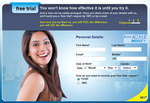 Live again : Free Acuve Contact Lens Trial pack
