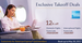 Flat 12% off on Domestic & International flights exclusively for American Express card members (No minimum transaction and no maximum discount)