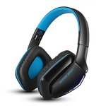 Kotion Each B3506 Over-the-ear Wired & Wireless Bluetooth Headset With Mic (Black/Blue) low price