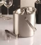 Dynamic store stainless steel 1500 ml ice bucket   set of 2  dynamic store stainless steel 1500 ml i 3x9wo6