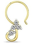 (may be loot ) Women Nose Ring ( pure silver ) @ RS 25