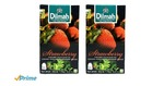 Dilmah Strawberry Flavoured Tea, 50g (Pack of 2) @Amazon