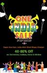Shopeclus One India Sale 6 Aug to 13 Aug