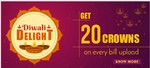 Get 20 Crowns On Every Bill Upload At Crownit