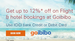 Get 12% off on Domestic Flight & 10% on Int'l Flight and Domestic/int'l Hotels Booking on Goibibo Via ICICI bank Cards