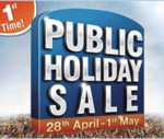 4 days BIGBAZAAR public holiday sale... (Online deal only for mumbaikars)