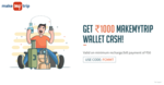 Get 1000 MMT wallet cash on recharge/Bill payment at freecharge