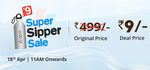[Live] Droom sipper sale at Rs 9 on 18th April