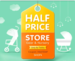 Firstcry Half price store ( 50% off on handpicked gear & Nursery range )