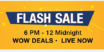 Paytm Flash Sale 6-12PM : 100% cashback on premium sunglasses & more offers