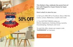 Pepperfry : FLAT 30% off! On all orders. Max discount upto Rs.1000.