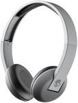 Skullcandy S5URW-K609 Uproar Bluetooth Headset with Mic  (Street Gray, On the Ear)