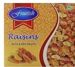 Fruitish Natural Raisins/Kishmish Raisins  (250 g, Box) @Flipkart