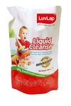 lowest:-LuvLap Anti-Bacterial Baby Bottles, Accessories and Vegetable Liquid Cleanser Refill Pack (1L)
