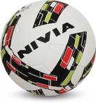 [Lowest] 72% off Nivia Storm Revolution Football - Size: 5  (Pack of 1, White, Red)